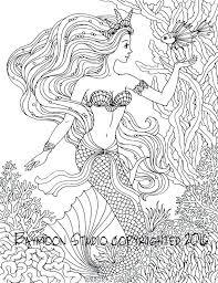 Coloring Mermaids Jeanettewalliscom