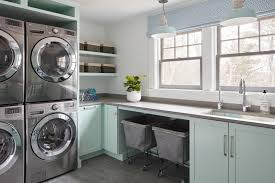 laundry room cabinet and shelving ideas
