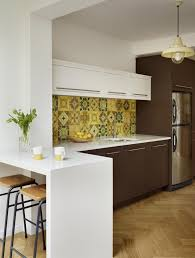 Large Tile Kitchen Backsplash Make A Statement With A Trendy Mosaic Tile For The Kitchen