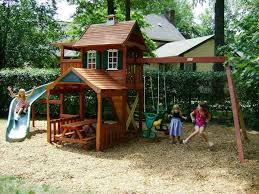 outside playsets diy kids outdoor playset projects the garden pertaining to kids  home playground ideas Best