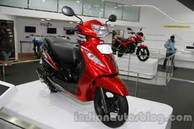 new car launches april 2014TVS shows off updated Wego launch in MarchApril