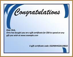 Congratulation Certificate Congratulation Templates Special Congratulations Certificate