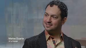 Head Of Design In Conversation With Googles Head Of Design Matthias Duarte