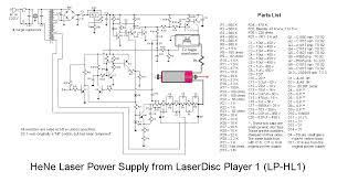 sam s laser faq complete hene laser power supply schematics