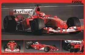 Find great deals on ebay for ferrari f2004. Ferrari F2004 Formula 1 Race Car Autophile Profile Cool Car Wall Poster Ebay