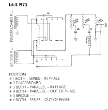 tell me about the gibson l6s page 3 the gear page here s just the wiring diagram