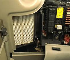 operator station climate control and air filters recirculation filter location