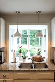 pendant lighting over sink. full image for pot lights over kitchen sink how to install recessed lighting pendant n