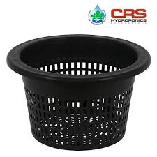 mesh pot bucket lid 10 in fits 5 gallon buckets net cup hydroponics drip system gallon bucket21