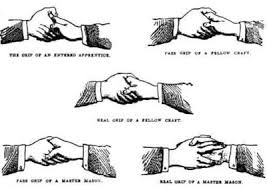 「Secret Masonic Handshakes」の画像検索結果