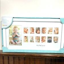 baby first 12 months photo frame month picture collage template india