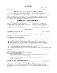 Alluring Mechanical Engineering Project Manager Resume With
