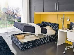 small bedroom furniture design ideas. bedroom luxury ideas for young adults with modern bed storage and flooring lamp also using black rugs tips small furniture design e