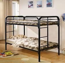 black metal bunk bed. Black Metal Bunk Bed - Main Street Furniture Outlet