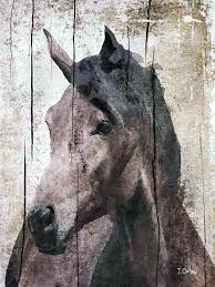 horse canvas wall art horse extra large horse unique horse wall decor brown rustic horse large horse canvas wall art  on shadow rider horse canvas wall art with horse canvas wall art horse canvas print horse art horse decor horse