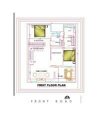30x40 sq ft duplex house plans