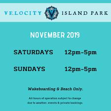 Sundays Only Calendar Park Hours Events Velocity Island Park Woodland Ca