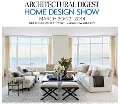 0 Responses to ARCHITECTURAL DIGEST HOME DESIGN SHOW March 21-24, 2014