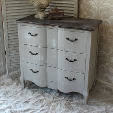 vintage looking bedroom furniture. french grey vintage style chest drawers home bedroom furniture wood shabby chic ebay looking s