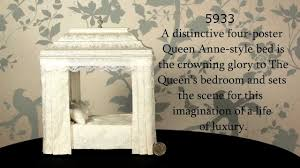 Queen Marys Four Poster Bed Dolls House Emporium YouTube - Bedroom emporium