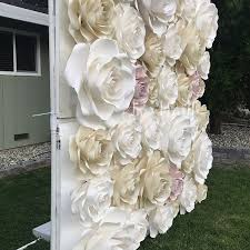 how to make a fl wedding backdrop with