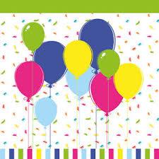 "<b>Салфетки</b> бумажные, трехслойные <b>Duni</b> ""<b>Balloons</b> and confetti ..."