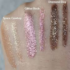 <b>Urban Decay</b> Moondust Space Cowboy, <b>Glitter Rock</b>, Diamond Dog ...