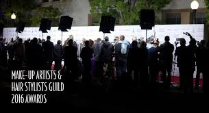 the professional makeup and hair stylist industry s best was on display this past week at the make up artists and hair stylists guild awards muahs
