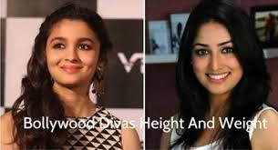 Height And Weight Of Bollywood Actress