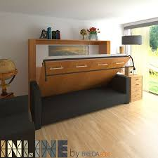 Horizontal InLine Murphy Bed and InLine Sofa