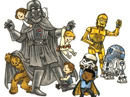 jeffrey brown s darth vader and friends first look
