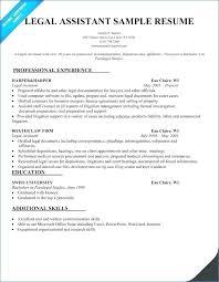 Legal Assistant Resume Unique Legal Assistant Resume Template Fresh