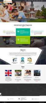 Responsive Web Design Seminar Education And Training Responsive Website Template
