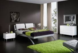Black Carpet For Bedroom Sophisticated Black Color Scheme Interior Decorating Idea For