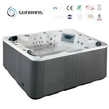 outdoor spa hot tub 103pcs spa jets massage bathtub