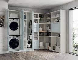 Zona Lavanderia In Bagno : Nuovo programma laundry space scavolini