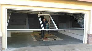 garage screen door slidersLifestyle Garage Screen with Sliding Scree Door  YouTube