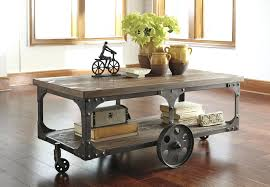 industrial coffee table with wheels cfee scfee on uk diy