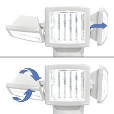 150 led triple head solar motion light