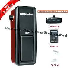 liftmaster professional 1 2 hp 1 2 horsepower garage door opener rh sammo co craftsman garage door openers low clearance garage door openers