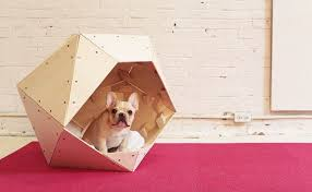 first we ll look at some dog house plans that can help you build something modern and fancy for your small apartment friend it s a geometric dog house made