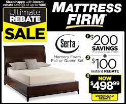 Ultimate rebate sale download  Serta 100 dollar rebate