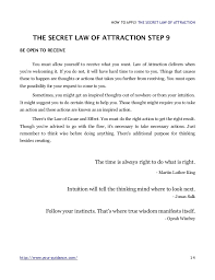 the secret law of attraction how to apply  14 how to apply the secret law of attraction