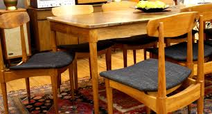 mid century deilcraft dining table and