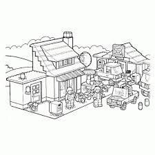 Leuk Voor Kids Kleurplaat Lego City Kleurplaten Viewletterco With