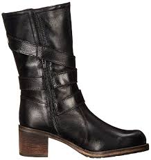 dune london women s rocking motorcycle boot black leather shoes boots dune ballet flats