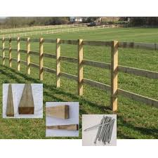 fence post. Square Post And Rail Fencing Fence E