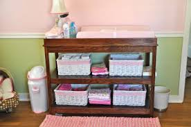 Make your own changing table.