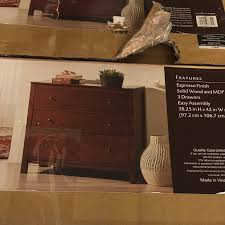 hd designs 3 drawer a center 39 99 they didn t have one of these already put together so i just have the box picture but for that it looks well