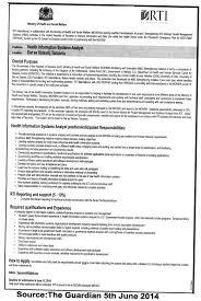 Health Information System Analyst | Tayoa Employment Portal